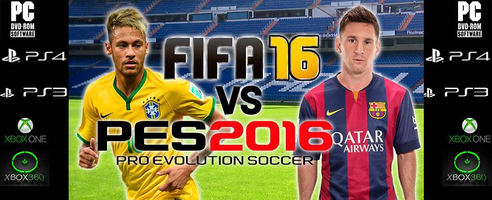 FIFA16 vs PES2016